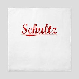 Schultz, Vintage Red Queen Duvet