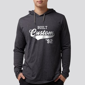 Custom built 1992 Birthday Anniv Mens Hooded Shirt