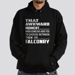 That Awkward Moment... Falconry Hoodie (dark)