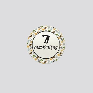 Safari 7 Months Milestone Mini Button