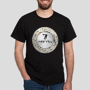 Safari 7 Months Milestone Dark T-Shirt