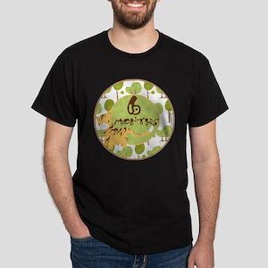 Safari 6 Months Milestone Dark T-Shirt