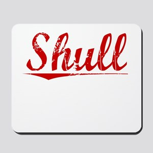 Shull, Vintage Red Mousepad