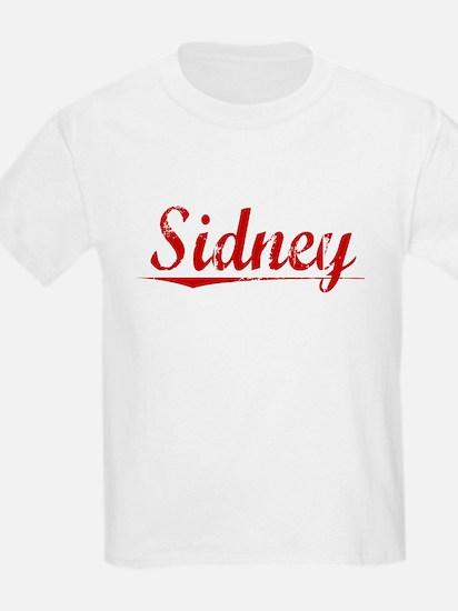 Sidney, Vintage Red T-Shirt