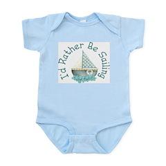 I'd Rather Be Sailing Infant Creeper