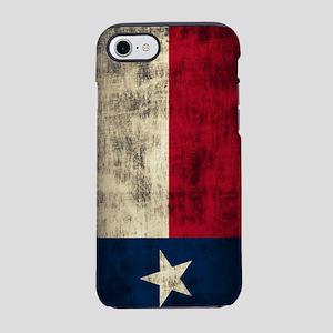 Grunge Flag of Texas iPhone 7 Tough Case