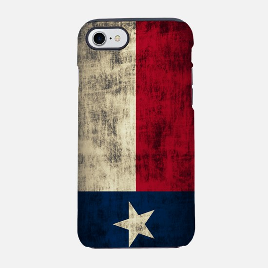 Grunge Flag of Texas iPhone 7 Tough Case