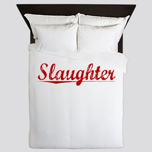 Slaughter, Vintage Red Queen Duvet