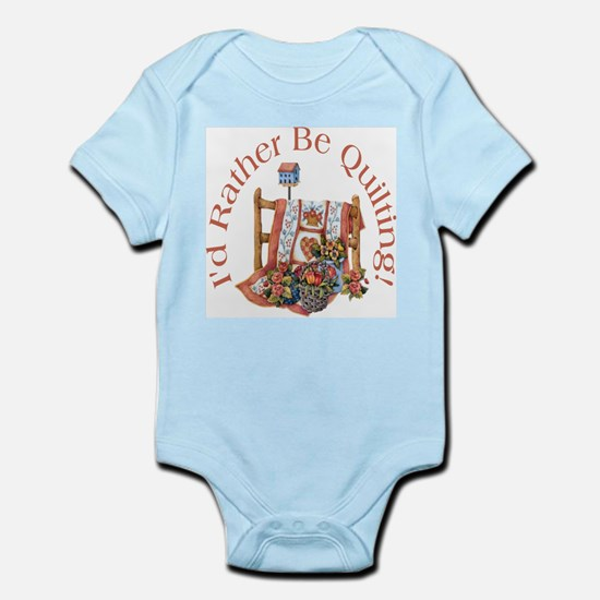 Rather Be Quilting Infant Bodysuit