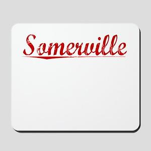 Somerville, Vintage Red Mousepad