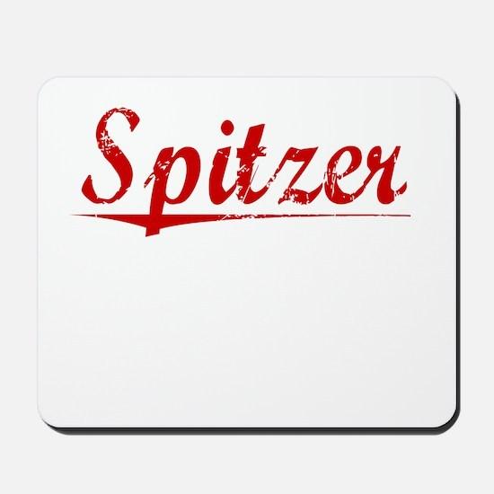 Spitzer, Vintage Red Mousepad