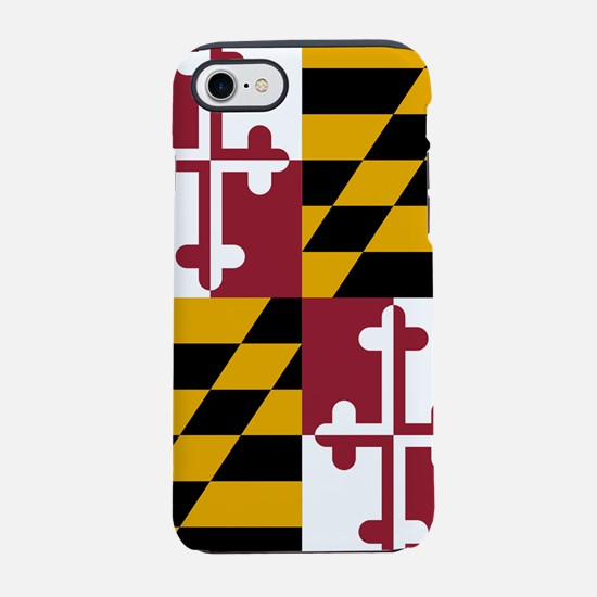Maryland State Flag iPhone 7 Tough Case