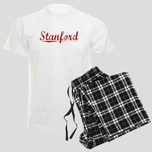Stanford, Vintage Red Men's Light Pajamas