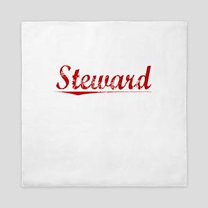 Steward, Vintage Red Queen Duvet
