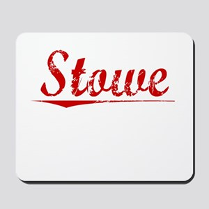 Stowe, Vintage Red Mousepad