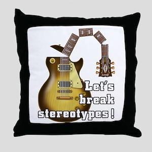 Music9 Throw Pillow