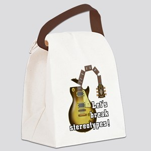 Music9 Canvas Lunch Bag