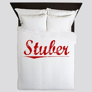 Stuber, Vintage Red Queen Duvet