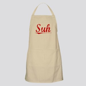 Suh, Vintage Red Apron