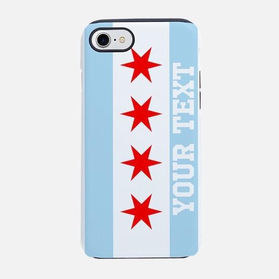 Monogram Chicago Flag iPhone 7 Tough Case