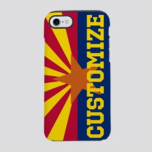 Personalized State Flag of Arizona iPhone 7 Tough