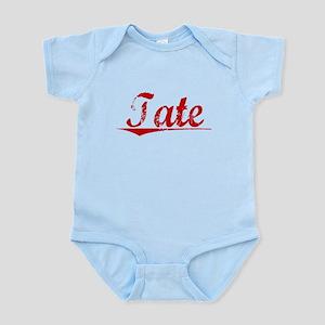 Tate, Vintage Red Infant Bodysuit