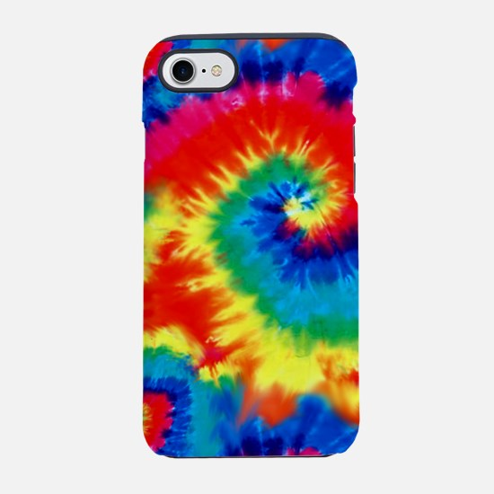 Psychedelic Tie Dye Pattern iPhone 7 Tough Case