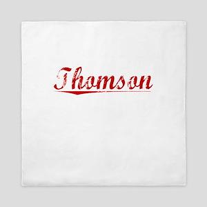 Thomson, Vintage Red Queen Duvet