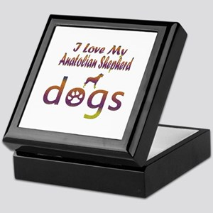 Anatolian Shepherd designs Keepsake Box