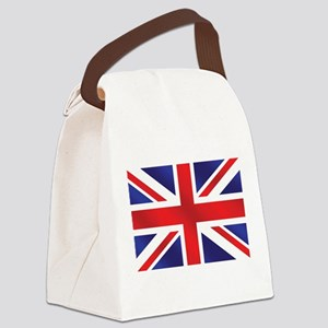 Union Jack UK Flag Canvas Lunch Bag