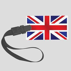 Union Jack UK Flag Large Luggage Tag