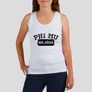 Phi Mu Athletic Women's Tank Top