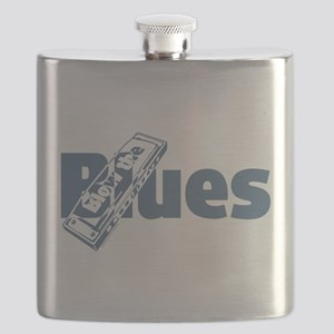 Harmonica Blues Flask