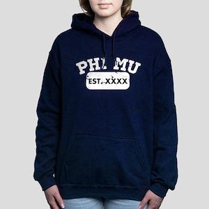 Phi Mu Athletic Women's Hooded Sweatshirt