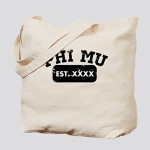 Phi Mu Athletic Tote Bag
