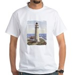 Portland Headlight White T-Shirt