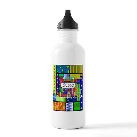 Nurse Vertical 1 Stainless Water Bottle 1.0L