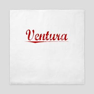 Ventura, Vintage Red Queen Duvet