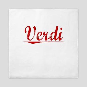 Verdi, Vintage Red Queen Duvet