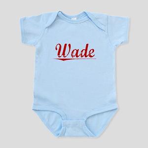Wade, Vintage Red Infant Bodysuit
