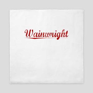 Wainwright, Vintage Red Queen Duvet