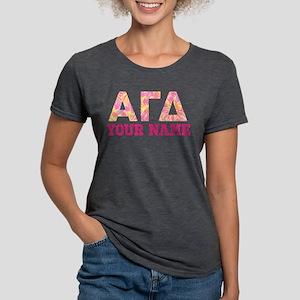 Alpha Gamma Delta Pink Ye Womens Tri-blend T-Shirt