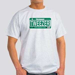 Tweezer/Tweprise Vermont License Plate Shirt