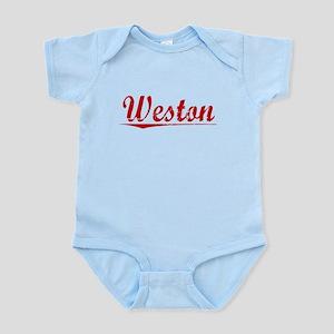 Weston, Vintage Red Infant Bodysuit
