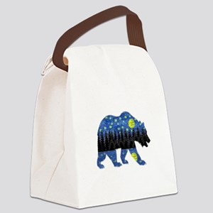 NIGHT LIGHTS Canvas Lunch Bag