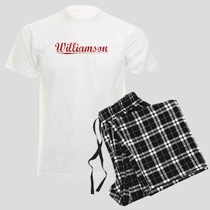 Williamson, Vintage Red Men's Light Pajamas