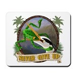 Never Give Up! v2 Mousepad