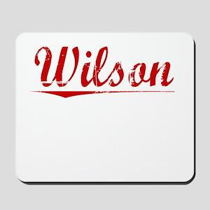 Wilson, Vintage Red Mousepad