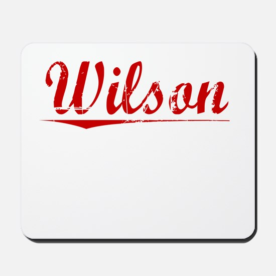 Wilson, Vintage Red Mousepad