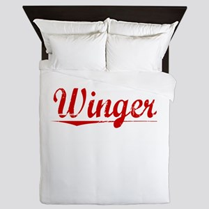 Winger, Vintage Red Queen Duvet